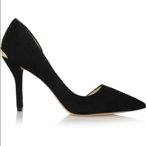 NWOT Michael Kors Black Julieta Leather Heels Sz 9